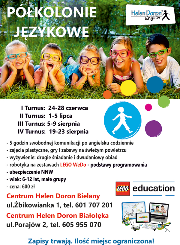 plakat-polkolonie-Helen-Doron-wakacje-2019-lato